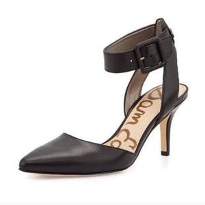 Sam Edelman Okala Ankle Strap Pointy Toe Pumps